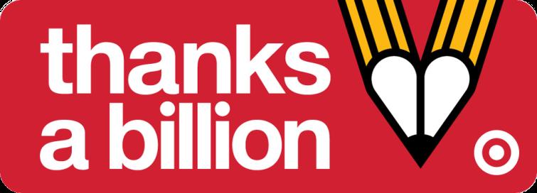 target thanks a billion logo